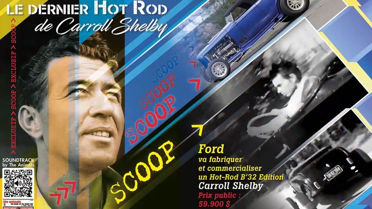 Chromes Flammes 6 Promo Carroll Shelby Exciser