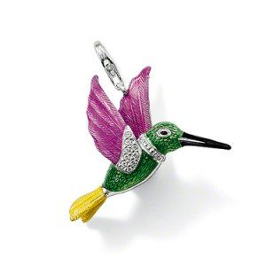 Thomas Sabo Hummingbird T0271-041-6-only £27.99 http://www.thomassabocharms.co.uk/thomas-sabo-locations.html