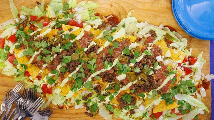 Rachel Ray show! Nacho Average Taco Salad The title says it all!
