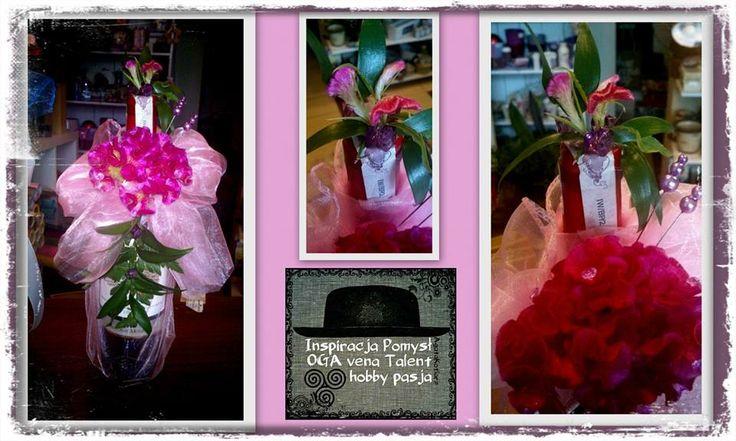 Butelka Wina Ozdobiona Zywymi Kwiatami Talent Ted Baker Icon Bag Oga