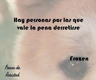 Frases de amistad disney de Frozen