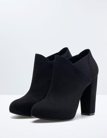 Bershka Egypt -Bershka elastic evening ankle boots