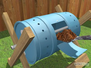 build a tumbling composter