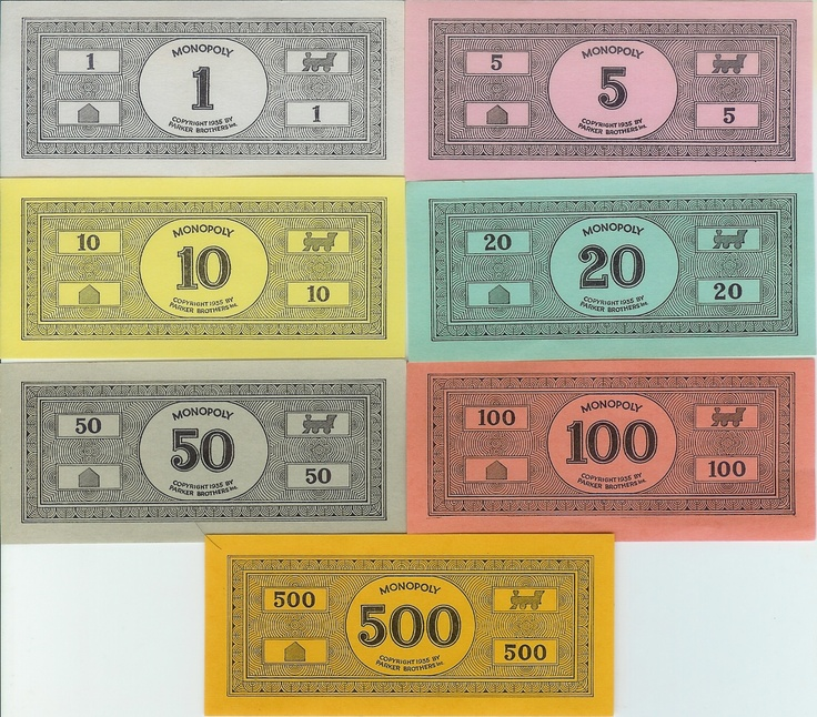 111 best images about game night on pinterest clue party for Monopoly money templates