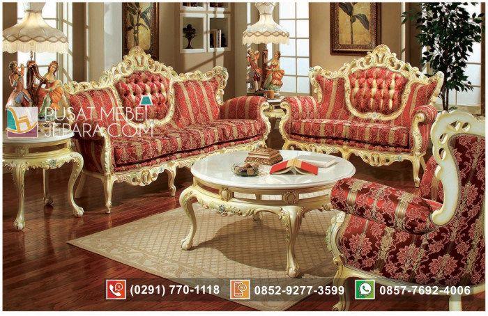 Set Kursi Tamu Sofa Victorian Style
