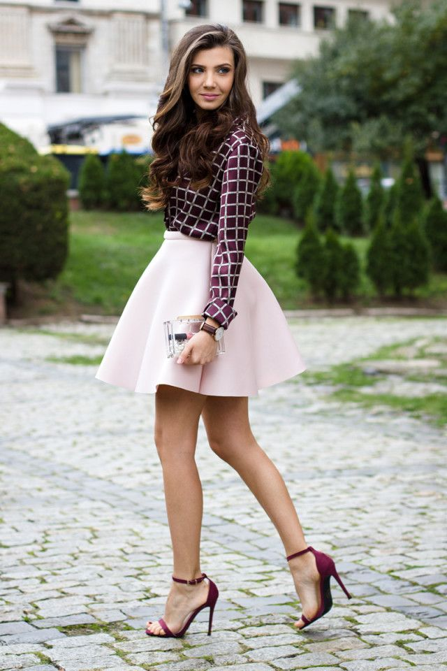 Image result for photo of trendy women skirts spring 2018