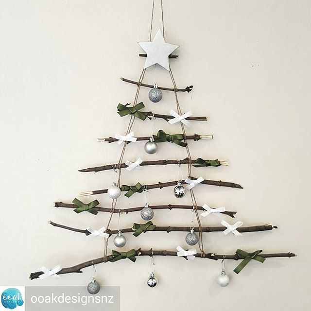 Now this is one stylish xmas tree 🎄 🎅 🎄 🎅  @Regrann from @ooakdesignsnz…