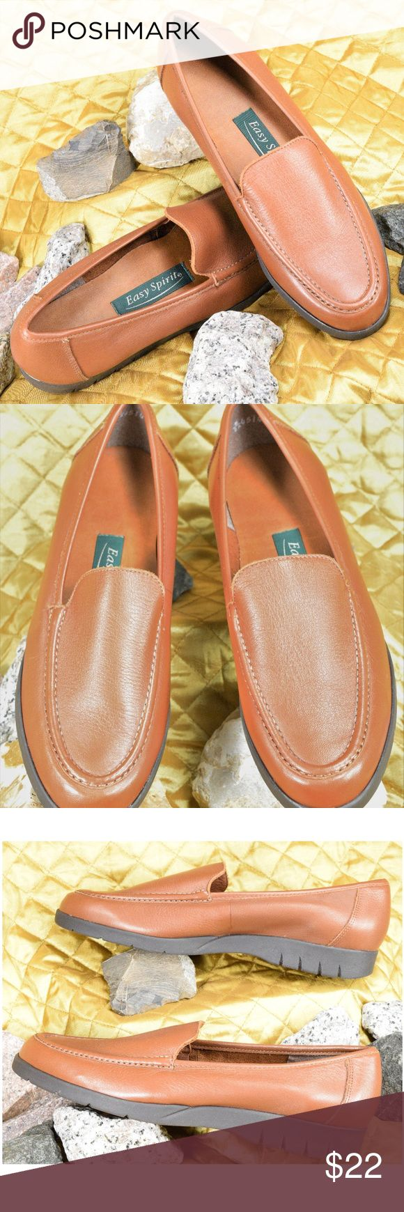NEW Easy Spirit Brown Leather Loafers Size 7 Women's beautiful brown leather loafers by Easy Spirit - New without box!  **If you appreciate old school quality - you're in the right place. We ship FAST, usually within 1 business day! Thanks for Poshing in my Closet! 🙂😘 Easy Spirit Shoes Flats & Loafers
