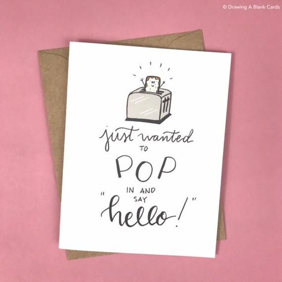 Hello You Range of Handmade Cards. Thinking Of You Card Encouragement