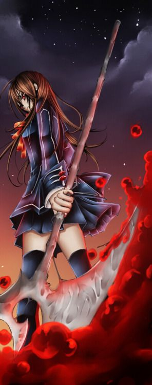 Yuki Cross/Kuran- Vampire Knight... I hated when she turned back to a vampire. Uuugh
