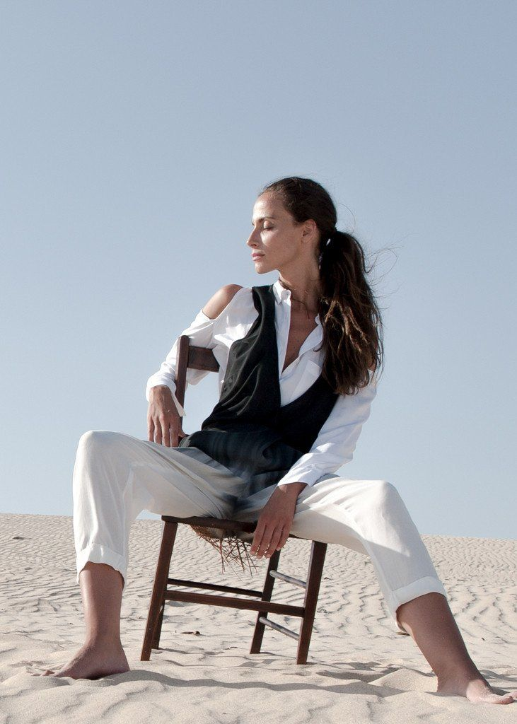Mod Suit, quality viscose crepe in delightful dip-dye. Love this dip dye one piece made by ethical fashion brand WE-AR