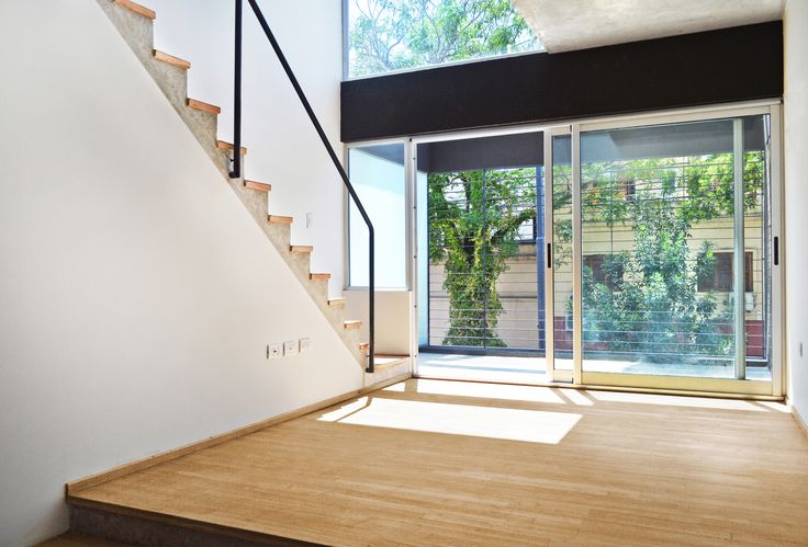 Urban Style Pampa - F2M Arquitectos - Interior unidad de 2 ambientes - +Info: http://www.f2mstudio.com.ar/p/urban-style-pampa.html