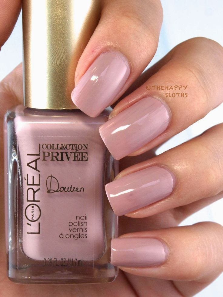L'Oreal Exclusive Nudes Collection by Color Riche Nail Polish: Review and Swatches