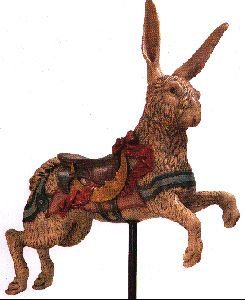 Dentzel Carousel company - antique animals from their museum - they own copyright