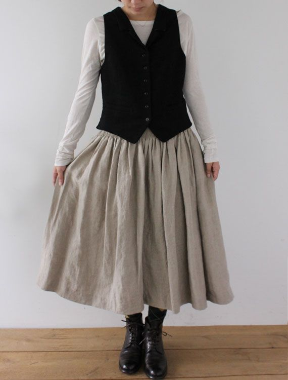 [Envelope Online Shop] Viennot・flax CLOTHING Skirts