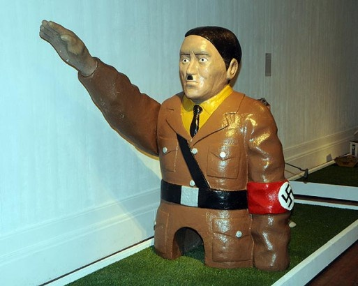 Sink a Putt, Win a Salute from Adolf Hitler all in Holiday Fun Context » Bob's Blitz