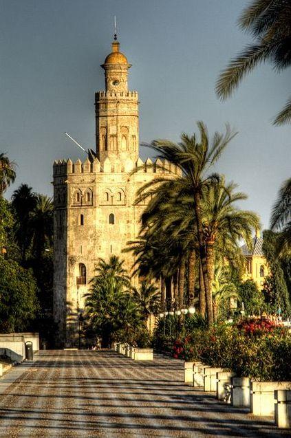 La torre del oro, Sevilla, España