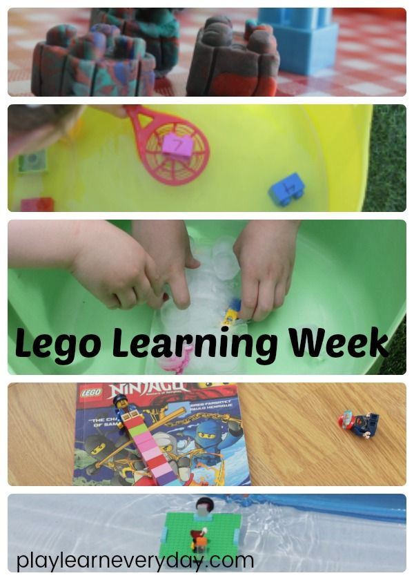 A week full of fun and educational activities to do with Lego as part of the summer camp at home series.