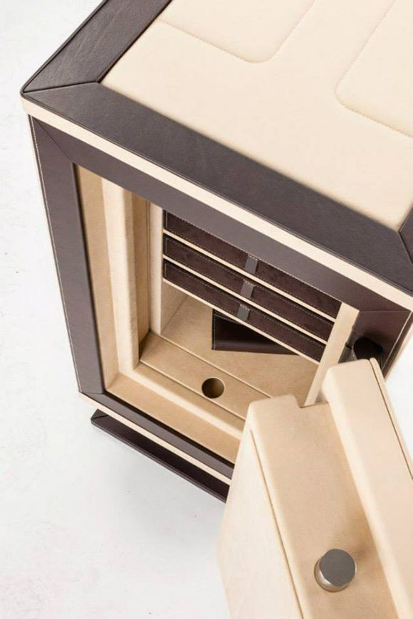 Made to measure high security luxury safes for private homes and offices