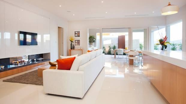 Open plan living ensures plenty of space for the whole family...
