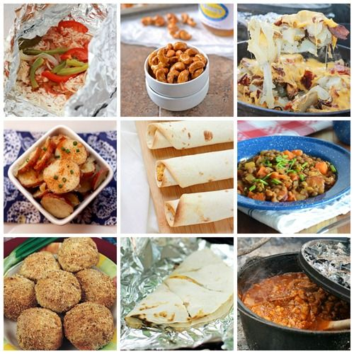 Best Camping Recipes Easy Camping Food Ideas: 17 Best Images About Camp Meals On Pinterest