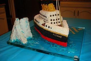 Titanic Birthday cake!