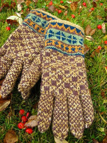 325 best Breien - Handschoenen images on Pinterest | Knit crochet ...