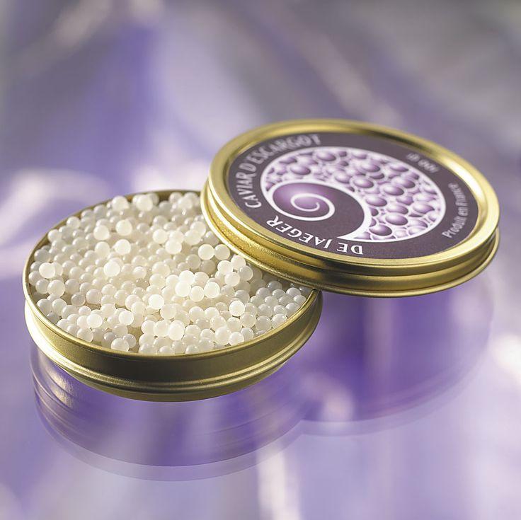 ~caviar blanc d'escargot ~ #caviar #escargot