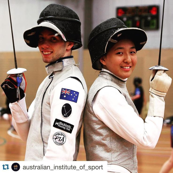 Good luck to Lucas and Alicia! #RoadtoRio. #Regram | En garde (yes not very original). They are No.1 #fencers in #Australia looking to qualify for the #Rio #2016 Olympic Games. Lucas Webber 20 and Alicia Kwag 16 are among 120 athletes  many of whom are #starwars fans (must have something to do with #lightsabers and #bouting) #training at the #AIS this week. @alicia.kwag @l_webber #australianfencing #fencing @fencing_fie #ExperienceAIS #RoadtoRio #Rio2016 @Rio2016 #sport #followme #ausport…