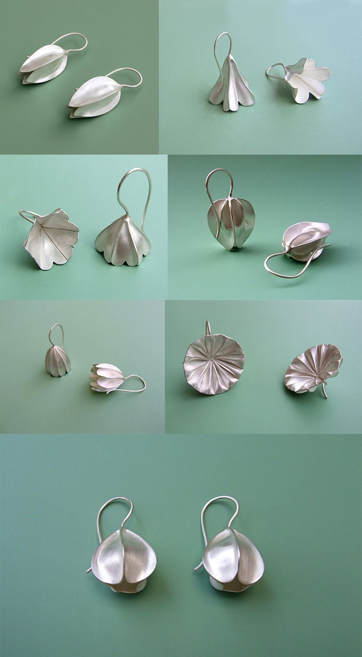 Nature-Inspired Jewelry by Dörte Dietrich. - Art is a Way