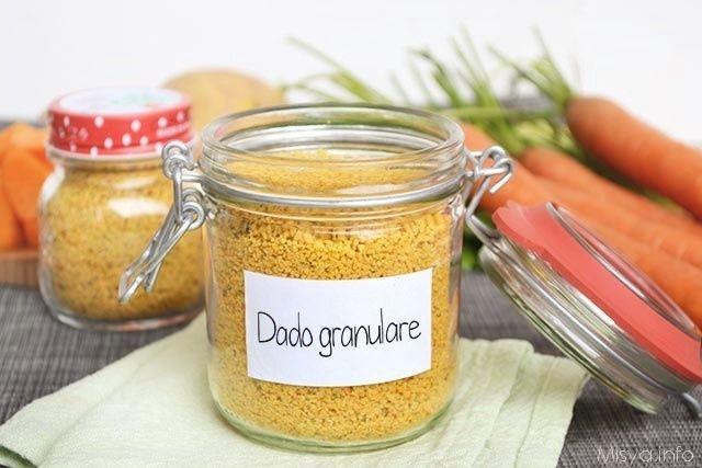 Dopo il minestrone bimby e il dado vegetale bimby, a grande richiesta ecco anche il dado granulare fatto in casa con il bimby. potete far