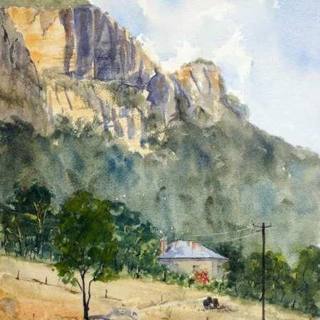 Capertee Valley Cliffs at Glen Davis