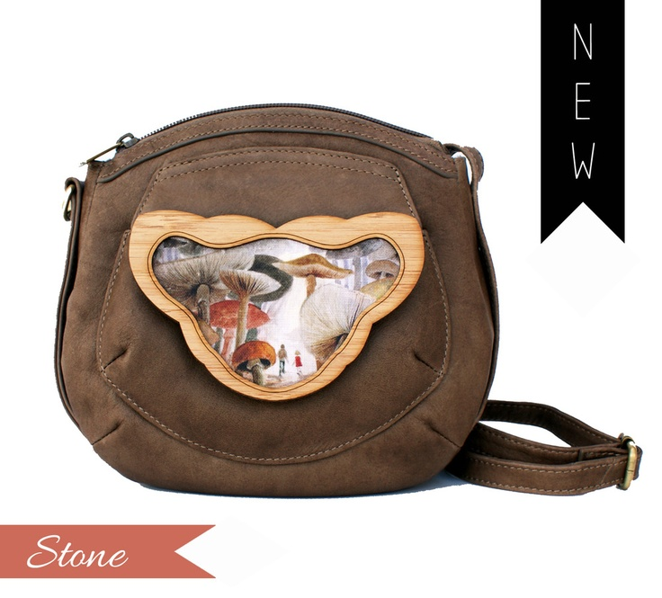 Pippy Bag/Backpack featuring Mushroom Forest by Ursula Andrejczuk