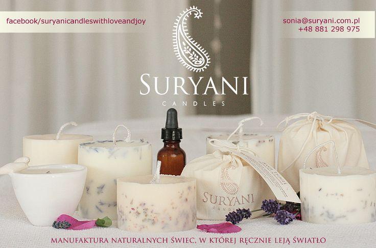 Suryani Candles - manufaktura naturalnych świec.