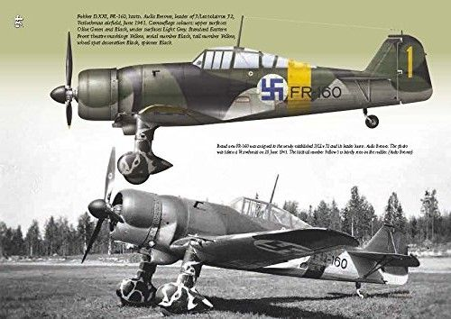 "retrowar: "" Finnish Fighter Colours 1939-1945 :: http://amzn.to/1VQW9na """
