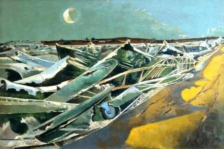 Paul Nash - Totes Meer