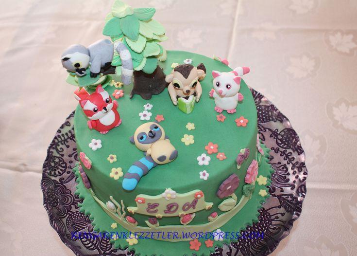 Yoohoo and friends cake