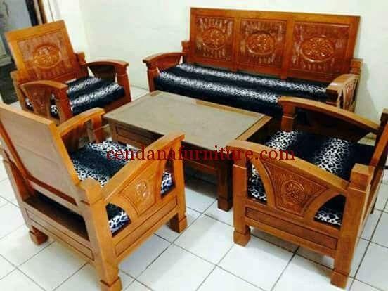 Kursi Tamu Minimalis Flamboyan Bagong