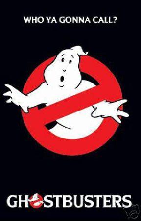 'Ghostbusters' Film print