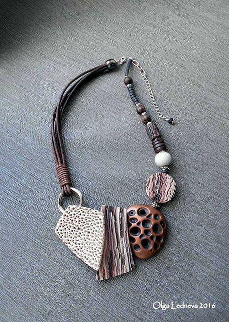 CERNIT. organic necklace | by Ольга Леднева