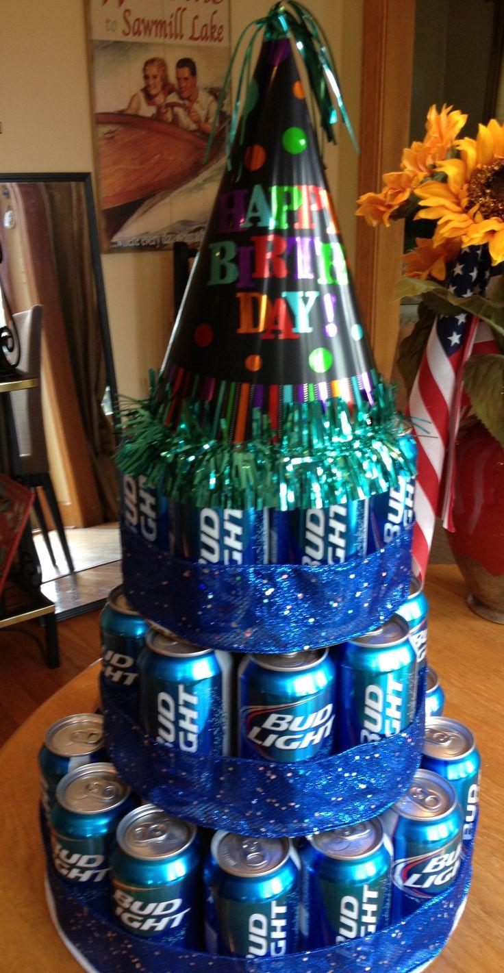 21st BD Beer Cake