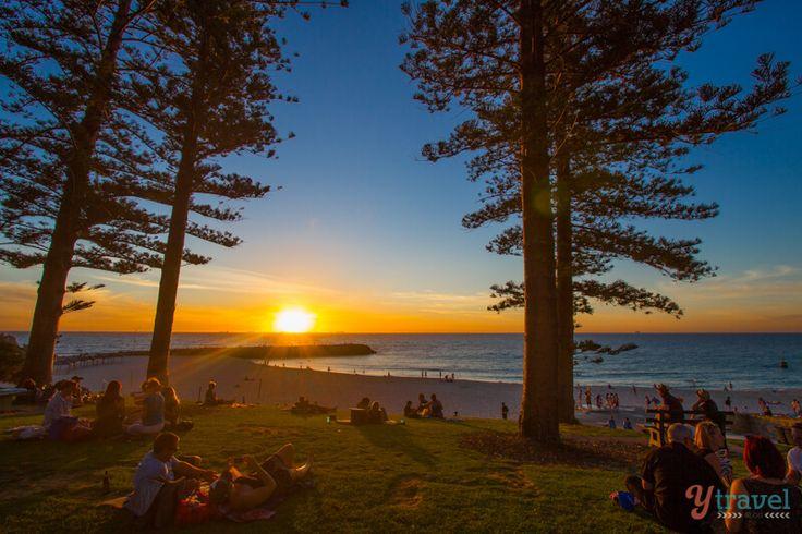 Sunset at Cottesloe Beach, Perth, Western Australia