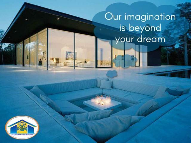Dream Home Our imagination is beyond your #dream Built your dream #home with #COCOFAS #SMRconstruction and live a happy life Contact us for all construction & construction field affiliated services Call : 96596 66077