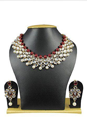 Elegant Red Pearls Indian Bollywood Gold Plated Wedding W... https://www.amazon.com/dp/B01MUDLQ7Z/ref=cm_sw_r_pi_dp_x_9vYHyb73FTDD3