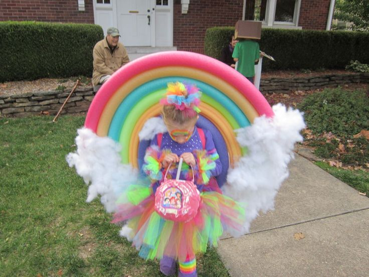 Kids rainbow costume | ... costume. It was a huge hit! Most popular costume in the neighborhood