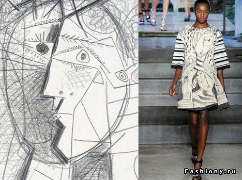 Одежда как произведение искусства. Art-принт