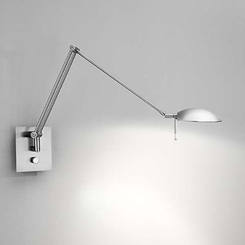 Bernie Turbo LED Low Voltage Swing-Arm Wall Sconce No. 8193LED