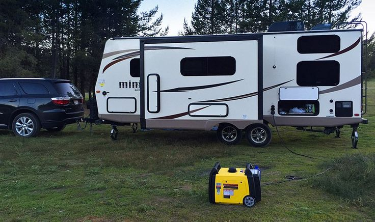 """If you're in the market for a new travel trailer or camper, then this article is for you. I just barely took out my brand new Rockwood 2504s trailer for 3 days of camping, and made a list of some necessities and """"must haves""""I had to buy for it, and also things I wish I'd bought. Just thought this would ..."""