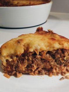 Tarte Taco au boeuf et aux carottes - sans sucre, sans gluten, faible en glucides, LCHF - Bibitte à Bouffe