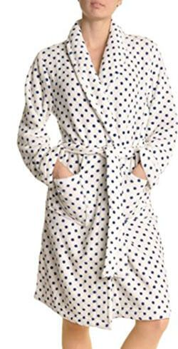 Angelina Premium Micro-Fleece Women's Bathrobe
